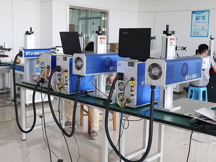 Co2 wood laser marking machine