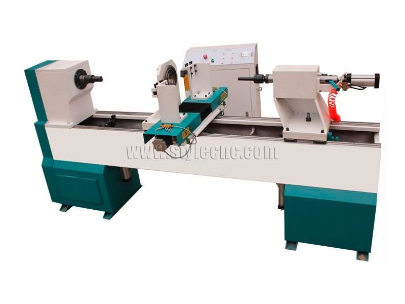 STL1530 single axis CNC wood lathe machine