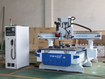 Wooden Door Making CNC Router with Linear ATC System