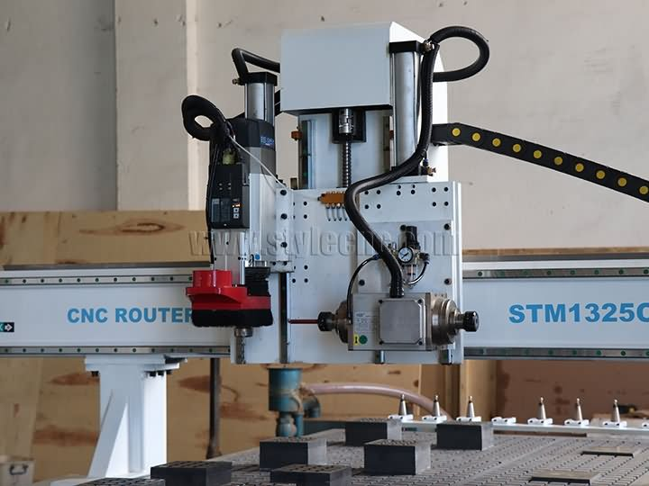 hingle work CNC router