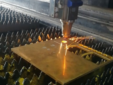 2000w fiber laser cutter for copper cutting