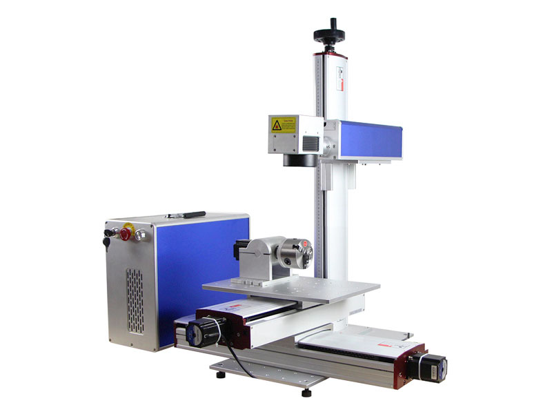Big size fiber laser marking machine