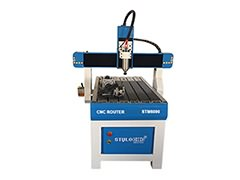 Hobby CNC Router 6090 with 4th rotary axis for aluminum, wood