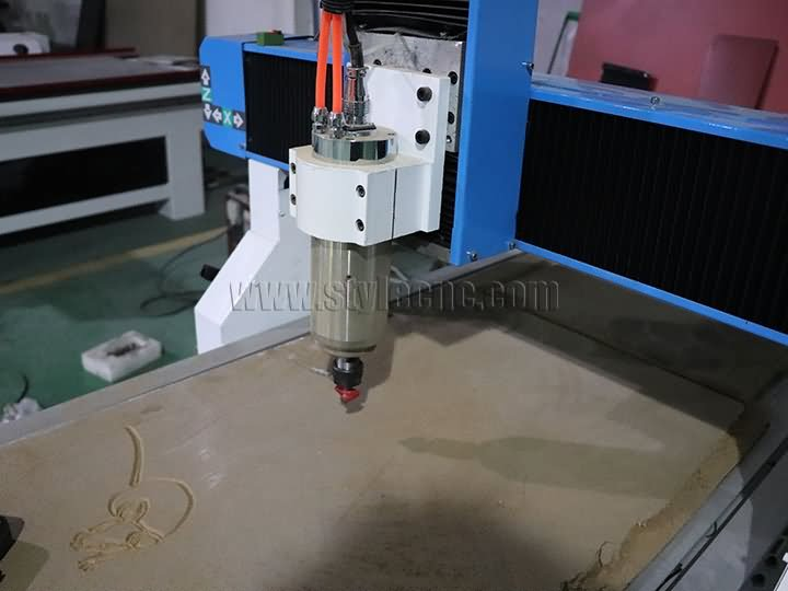 The Second Picture of Hobby CNC Router 6090 with 4th rotary axis for aluminum, wood, MDF