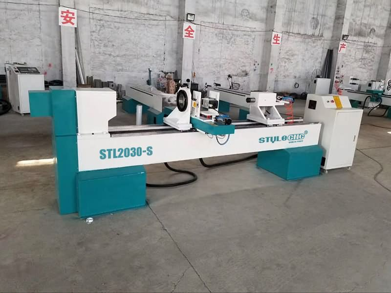The First Picture of Affordable Wood CNC Lathe Machine for Sale