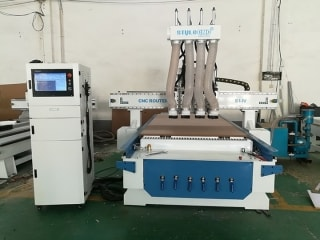 Automatic Nesting CNC Router Machine Installation and Operation