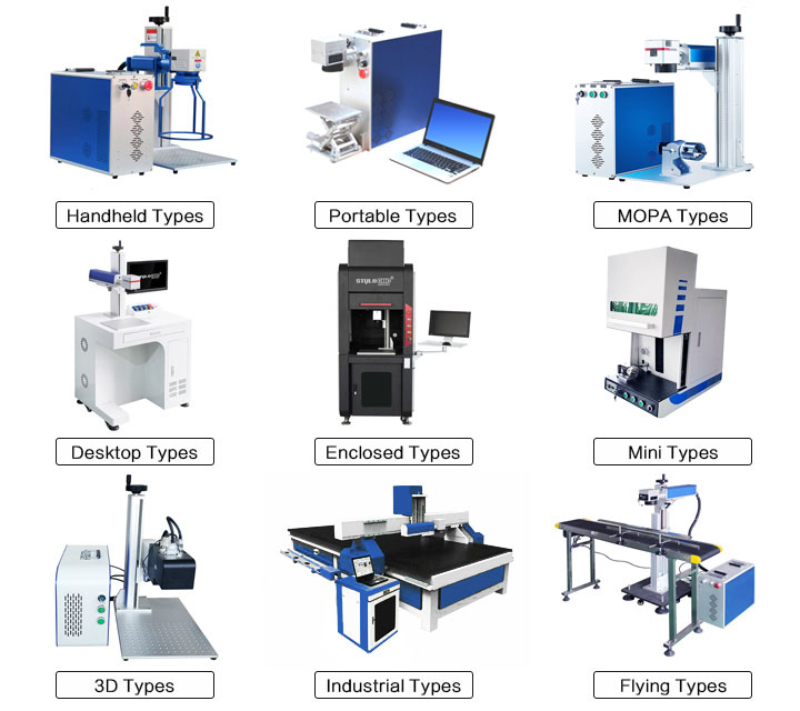 fiber laser engraving machines for color marking