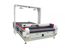 Digital Printing Fabric Contour Laser Cutter with Big CCD Camera