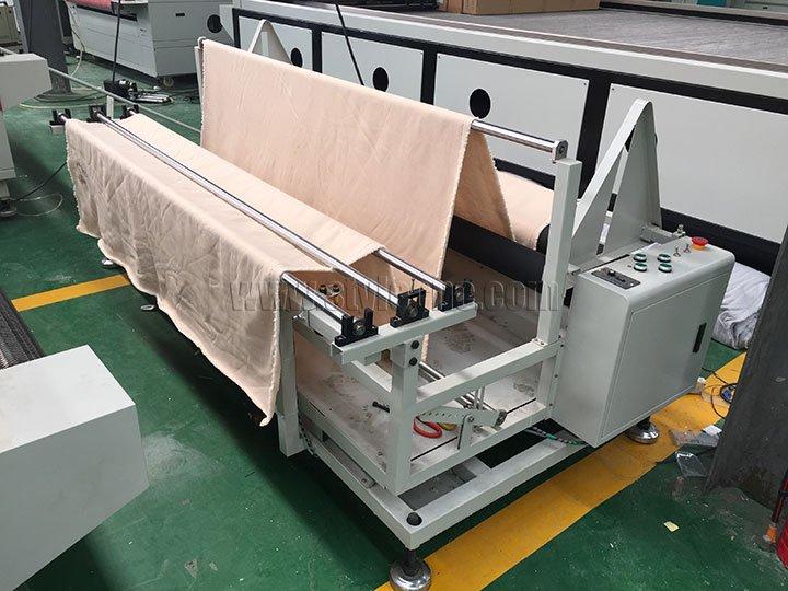 auto feeder of fabric laser cutter