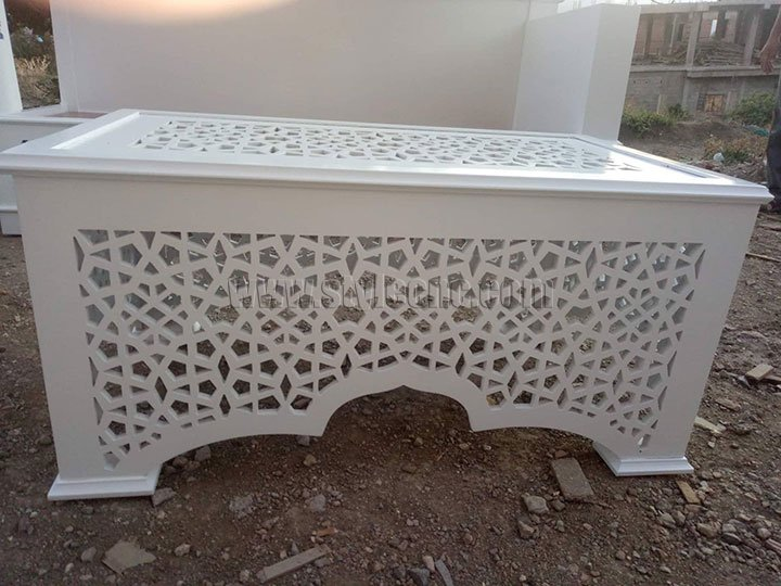 MDF cutting by CNC router