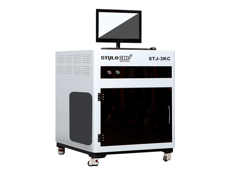 The First Picture of High Speed 3D Crystal Laser Engraving Machine for sale