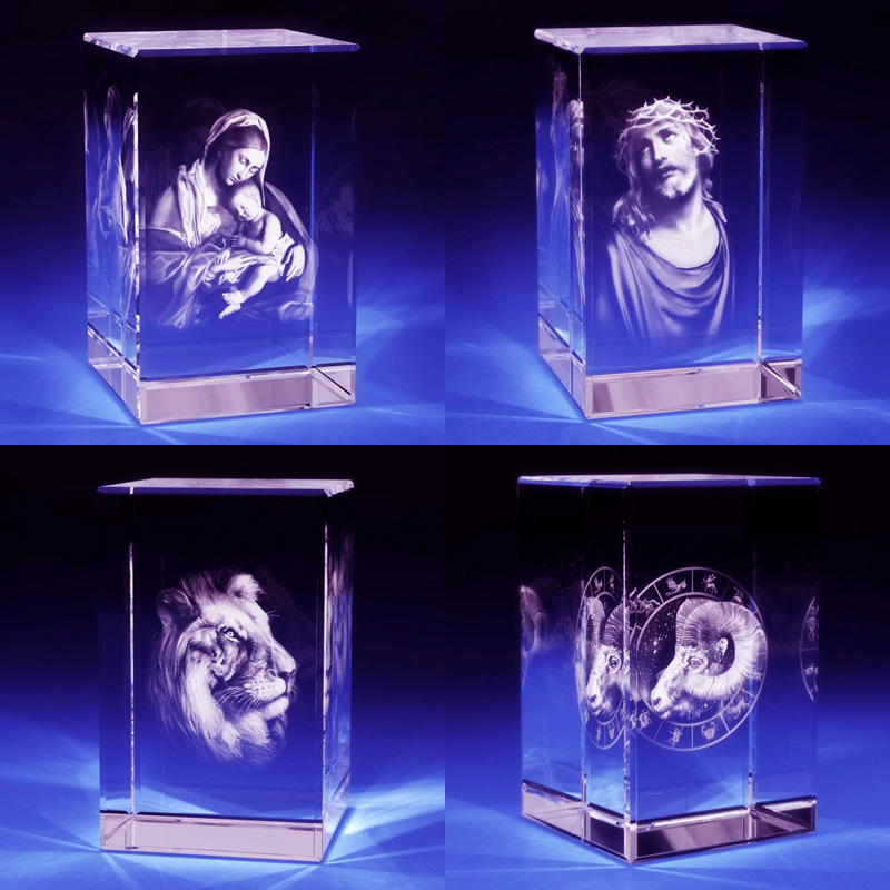 3D Crystal Laser Engraving Machine Projects