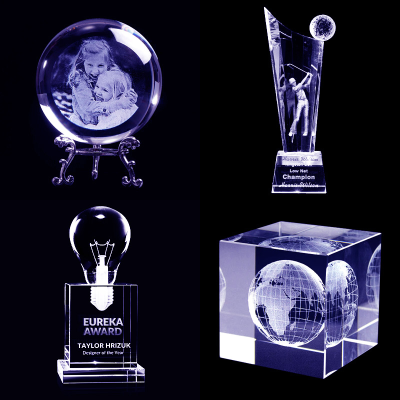 3d inner laser engraving machine projects