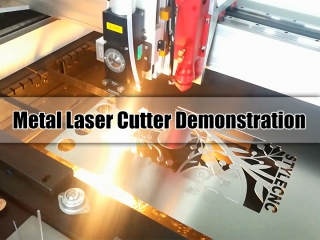 Sheet Metal Laser Cutter Demonstration from STYLECNC