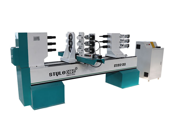 3 Axis Wood Lathe Machine for Wood Turning