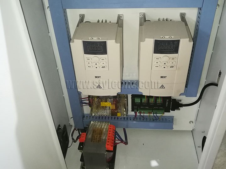 Power wood lathe inverter