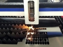 1mm Stainless Steel Laser Cutting Machine with Fiber Laser Source