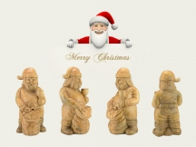 3D Santa Claus Carving Projects for Christmas 2018 by Wood CNC Router