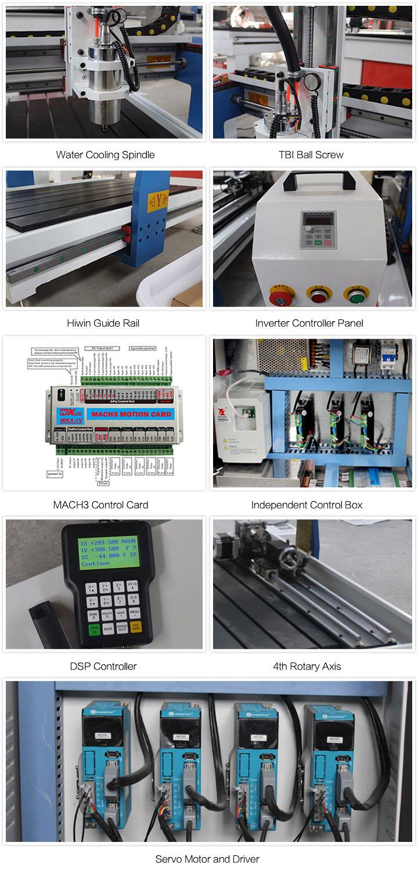 Small Desktop CNC Machine Details