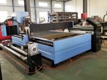 2 Sets of 5x10 CNC Plasma Cutters in Saudi Arabia