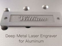 2021 Best 50W Deep Metal Laser Engraver for Aluminum