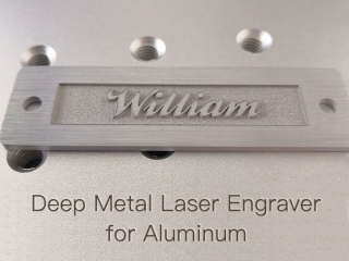 The Best 50W Deep Metal Laser Engraver for Aluminum of 2019