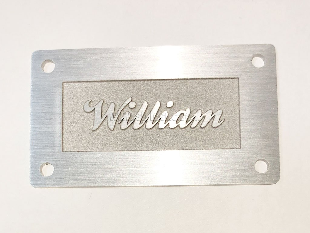 Laser Metal Engraving Machine for Aluminum Engraving Project