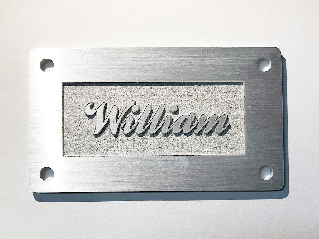 Metal Laser Engraving Machine for Aluminum Engraving Project