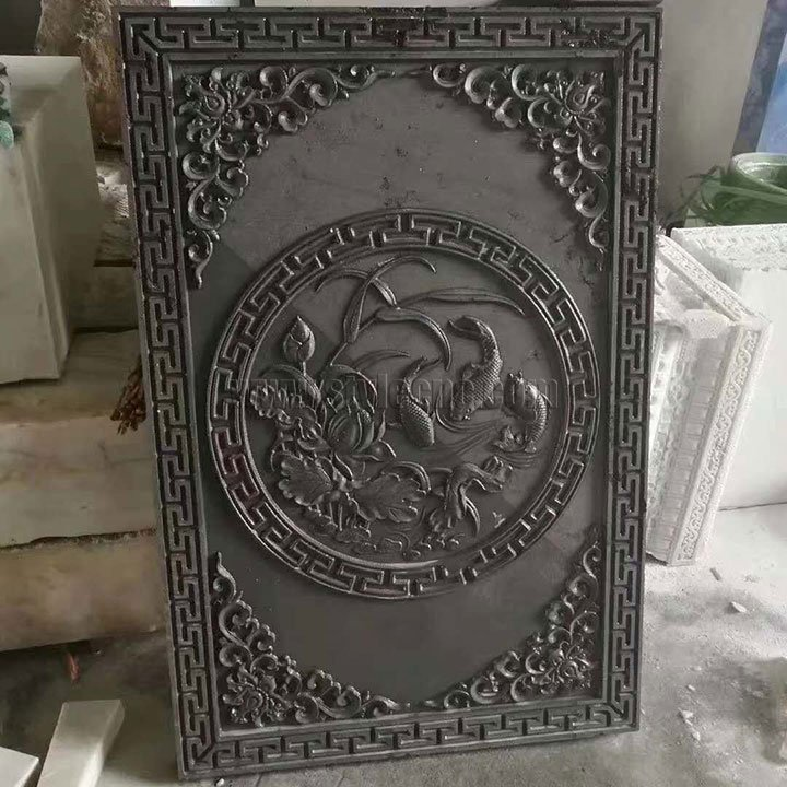3D stone relief carving project