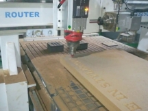 CNC Router for Wood Door Making with Automatic Tool Changer