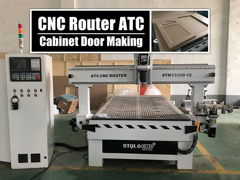 Automatic Tool Changer CNC Router for Cabinet Door Making