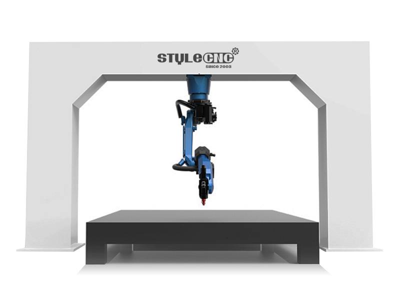 Robotic 3D Laser Cutting Machine