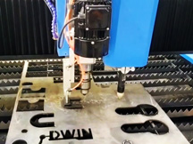 High Speed CNC Plasma Table for Sheet Metal Cutting