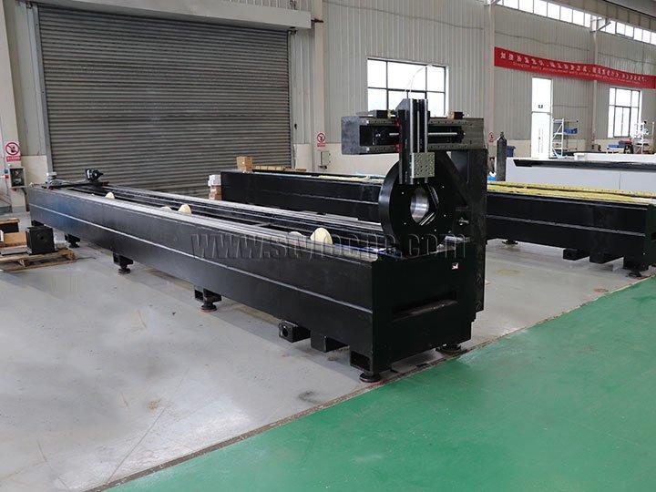 fiber laser tube cutter machine bed