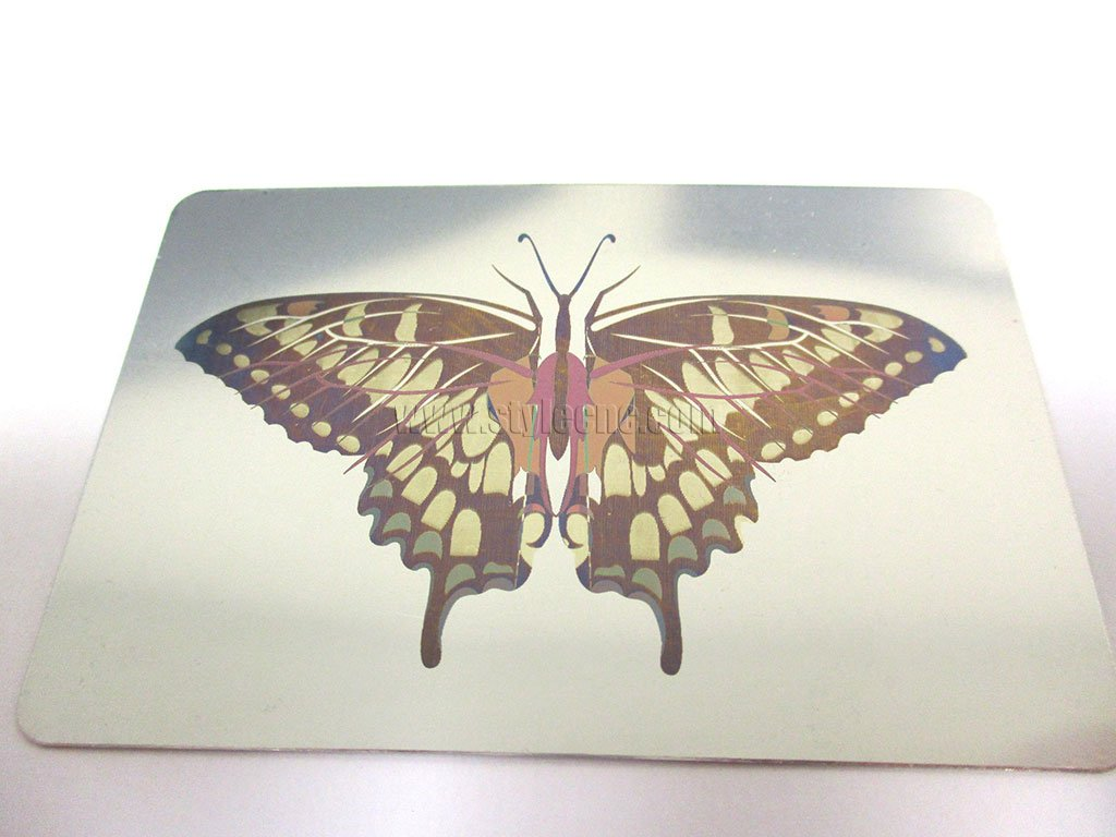 Color laser engraving for stainless steel