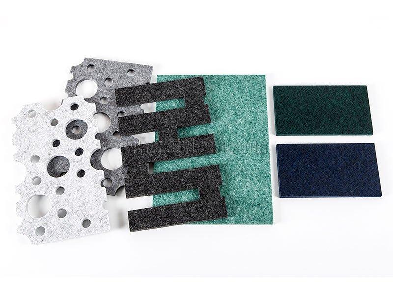 PET Felt Acoustic Panels Cutting Projects