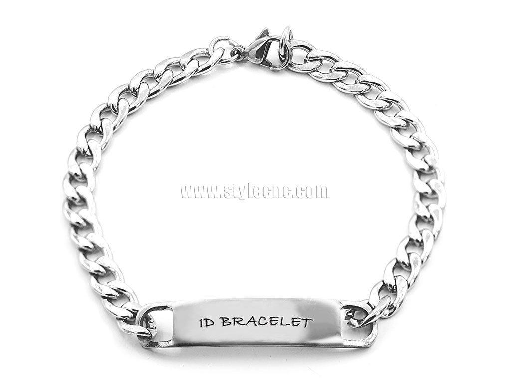 Laser Engraver for Stainless Steel ID Bracelet