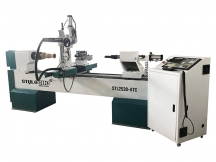 ATC CNC Wood Lathe with Automatic Tool Changer