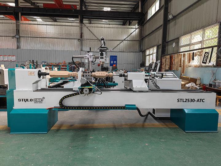 ATC Wood Lathe Machine