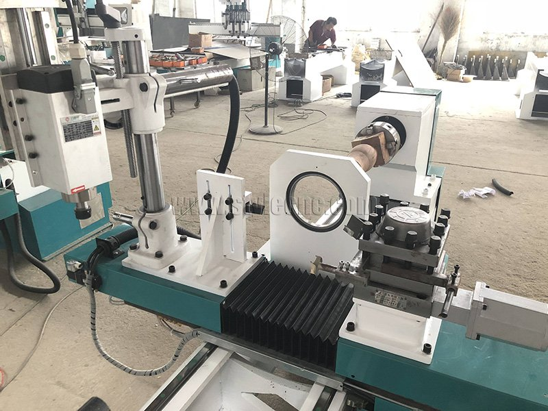 Automatic Tool Changer for CNC Wood Lathe