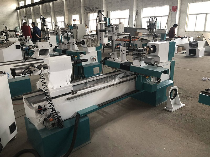 Automatic Tool Changer Wood Lathe