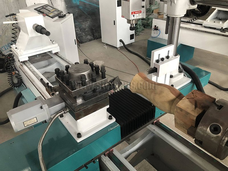 4 Axis CNC Router with Automatic Tool Changer