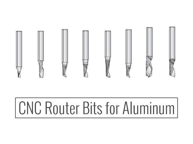 CNC Router Bits for Aluminum