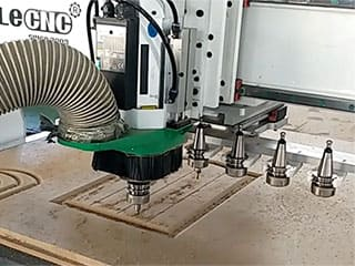 Affordable CNC Router Kits with Linear Automatic Tool Changer