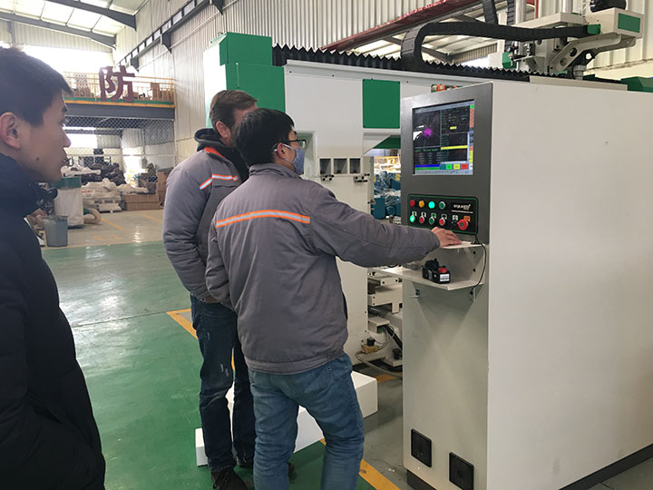 5 Axis CNC Router Machine Inspection