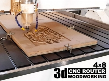 48x96 CNC Router Table for 3D Relief Carving