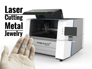 High Precision Fiber Laser Cutter for Metal Jewelry Fabrication