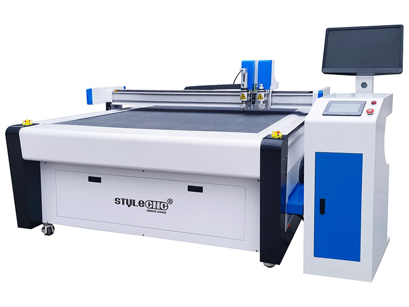 CNC Tangential Oscillating Knife Cutting Machine