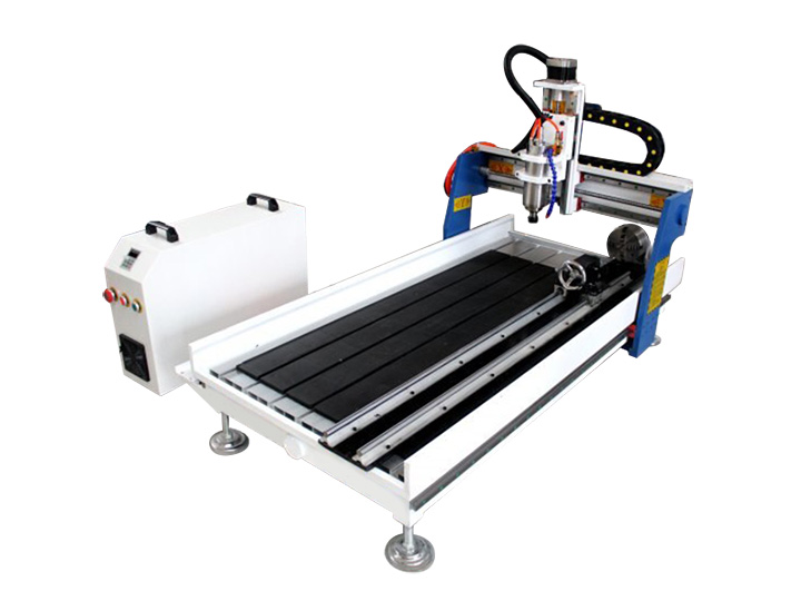 Benchtop CNC Router with 4th Rotary Axis
