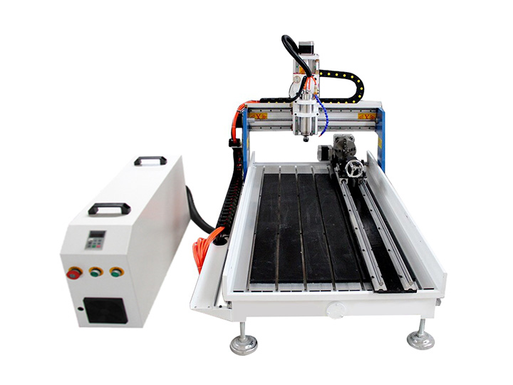 2x4 Benchtop CNC Router with Rotary 4th Axis